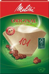 Melitta filter bags Brown original 101 40Stck.