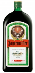 Jägermeister herbal liqueur 35% vol. 1 l