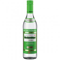Moskovskaya Russian Vodka 40% VOL 0, 5L