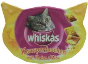 Whiskas small bags with chicken and cheese for cats 60g