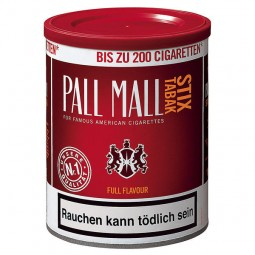 Pall Mall Stix tobacco full flavor red Stix tobacco