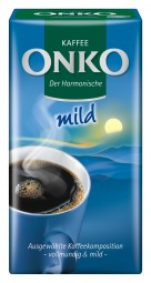 Onko coffee of the harmonious Naturmild 500 g