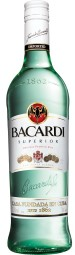 Superrior of Bacardi white rum 37.5% - 0.7 l
