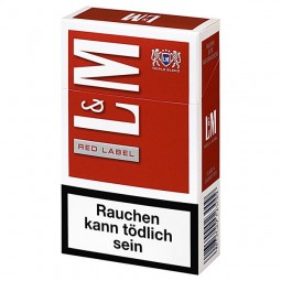 LundM red label 19 cigarettes