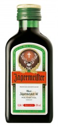 Jägermeister herbal liqueur 0.04 L bottles