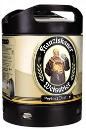 Franziskaner Weissbier perfect draft barrel