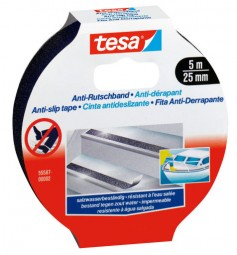 tesa*Anti slip band 5mx25mm black