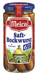 Juice Bockwurst 6 pieces