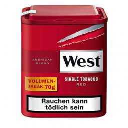 West red American blend single tobacco volume fine cut tobacco