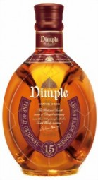 Dimple Scotch whisky 15J. 40% Vol.