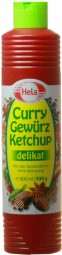 Curry Spice Ketchup 800ml Delicate Flasch