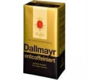 Dallmayr decaffeinated 500g ground