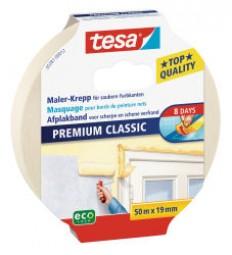 Tesa-painter crepe premium classic 50 m: 50 mm