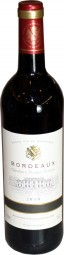 Bordeaux French red wine 0.7 litre bottle