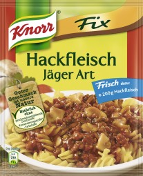 Knorr fix minced meat Hunter type