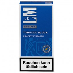 LundM blue tobacco block 42 g Pack