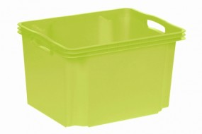 Multi box M 35x27x21cm green-transparent