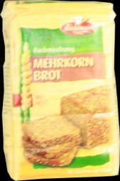 Multi grain bread with yeast