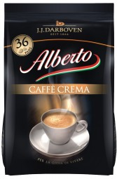 Alberto Caffe Crema 5 x 36 Coffee Pods
