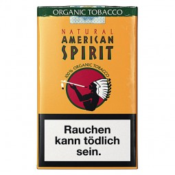 Natural American spirit Orange 19 cigarettes