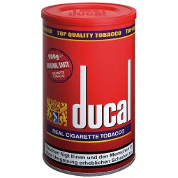 Ducal real cigarette tobacco red 200 g Tin