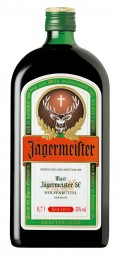 Jägermeister herbal liqueur 35% vol. 0, 7 l