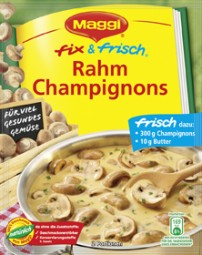 Maggi fix & fresh cream mushrooms