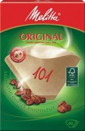 Melitta filter bags Brown original 101 40Stck.