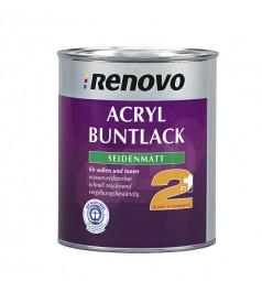 Acrylic silk matt lacquer 2in1 8001 ockerbraun