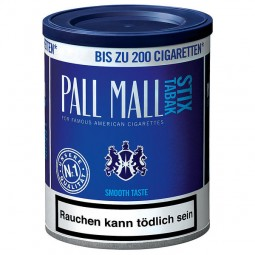 Pall Mall Stix tobacco smooth blue button 120g