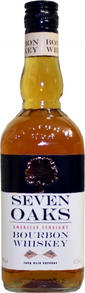 Seven Oaks Bourbon Whisky 40% 0.7 L