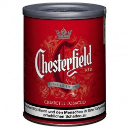 Chesterfield red 110g cigarette tobacco