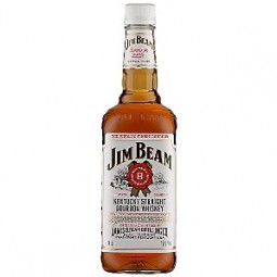 Jim beam white Bourbon whisky 40%