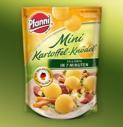Pfanni mini potato dumplings 400g