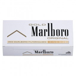Marlboro gold filter tubes 200