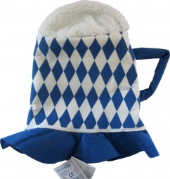 Beer hat in the Bavarian Bavarian design
