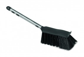 Hand brush, metal Edition, black