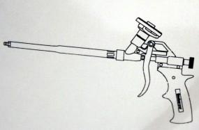 Metal gun PUPM 4 black