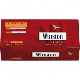 Winston red EXTRA 250 filter sleeves