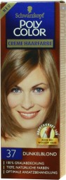 Cream hair color - poly color light brown 37