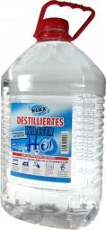 KLAX distilled water - 5 liters