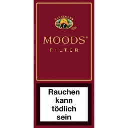 Dannemann moods filter cigarillos 5 piece