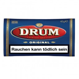 Drum diameter Halfzware tobacco 40 g