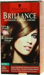 BRILLANCE intensive COLOR cream velvet Brown 874