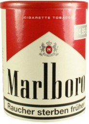 Marlboro red cut rolling tobacco tobacco box 110g