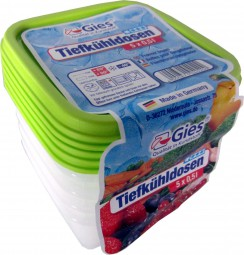 OKT freezer containers 5x0, 5 liters
