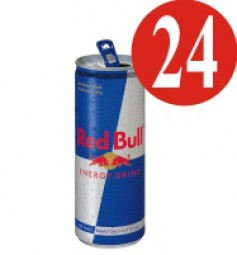 24x Red Bull energy drink 250 ml can