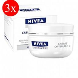 3x Nivea Visage cream best 3