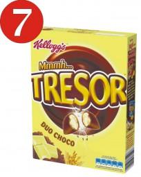 7 x Kelloggs Mmm Safe Duo Choco 375g