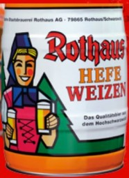 Rothaus Hefeweizen 5 L Party Box